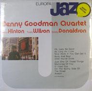 "Benny Goodman Quartet / Milton Hinton / Teddy Wilson / Bobby Donaldson Vinyl 12"" (New)"