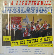 "The Hot Peppers Of Jazz Dixieland Band Vinyl 12"" (Used)"