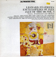 "Leonard Feather's Encyclopedia Of Jazz: Jazz Of The '60's, Vol.3 Vinyl 12"" (Used)"