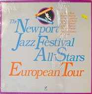 "The Newport Jazz Festival All-Stars European Tour Vinyl 12"" (Used)"