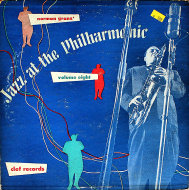 "Norman Granz' Jazz At The Philharmonic: Volume Eight Vinyl 10"" (Used)"