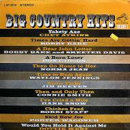 "Big Country Hits Volume 1 Vinyl 12"" (Used)"