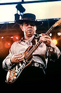 Stevie Ray VaughanFine Art Print