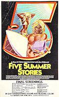 Five Summer Stories Handbill