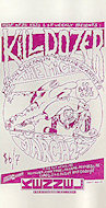 Killdozer Handbill