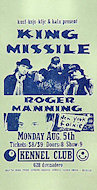 King MissileHandbill