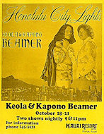 Keola and Kapono BeamerHandbill