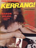 Kerrang! Issue 27 Magazine