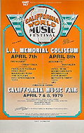 California World Music Festival Poster