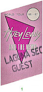 Huey Lewis &amp; the NewsBackstage Pass