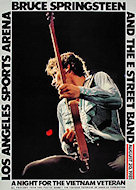 Bruce Springsteen & the E Street Band Poster from Aug 20, 1981