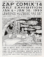 Zap Comix #14 Art ExhibitionHandbill