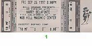 Harry Belafonte1990s Ticket