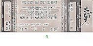 Harry Belafonte Vintage Ticket