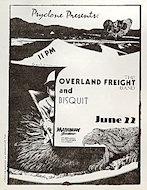 The Overland Freight BandHandbill