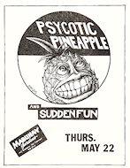 Psycotic PineappleHandbill