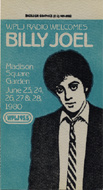 Billy Joel Backstage Pass