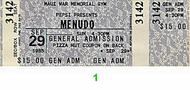 MenudoVintage Ticket