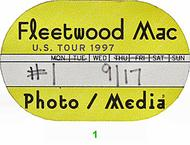 Fleetwood Mac Backstage Pass
