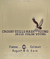Crosby, Stills, Nash & Young Poster
