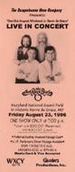 The Oak Ridge Boys Handbill