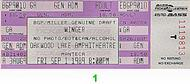 Winger1980s Ticket