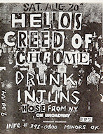 Helios Creed Handbill