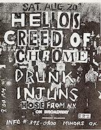 Helios CreedHandbill
