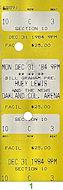 Huey Lewis & the NewsVintage Ticket