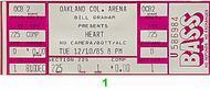 Heart1980s Ticket