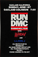 RUN-D.M.C.Handbill