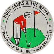 Huey Lewis & the News Pin