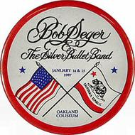 Bob Seger and The Silver Bullet Band Vintage Pin