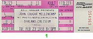 John Mellencamp1980s Ticket