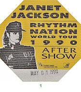 Janet JacksonBackstage Pass
