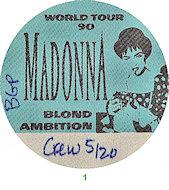MadonnaBackstage Pass