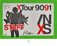 INXS Backstage Pass