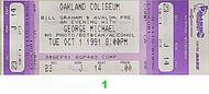 George Michael 1990s Ticket
