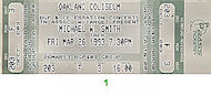Michael W. Smith Vintage Ticket
