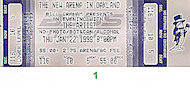 The Artist Vintage Ticket