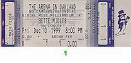 Bette Midler1990s Ticket
