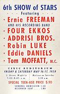 Ernie Freeman & Four EkkosPoster