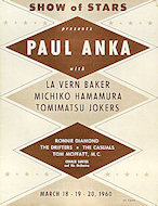 Paul Anka Program
