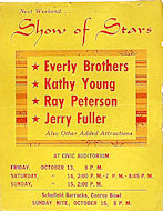 Everly Brothers Handbill