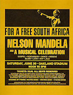Nelson MandelaHandbill