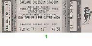 George Strait 1990s Ticket