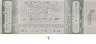 David Copperfield Vintage Ticket