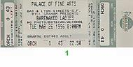 Barenaked Ladies 1990s Ticket