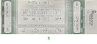 Body Count Vintage Ticket
