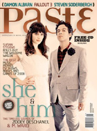 She & Him Paste Magazine